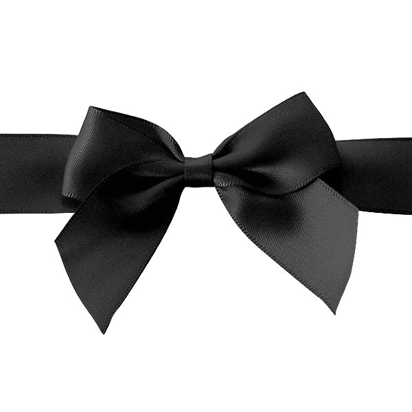 Pre-tied Bow - Size 1 (to fit Gift box C, A6, Voucher and Necklace Boxes) (Pack of 25)