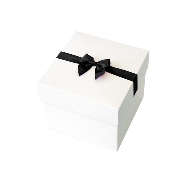 Black Pre tied Bow Size 3 to fit Gift box E Mini Hamper