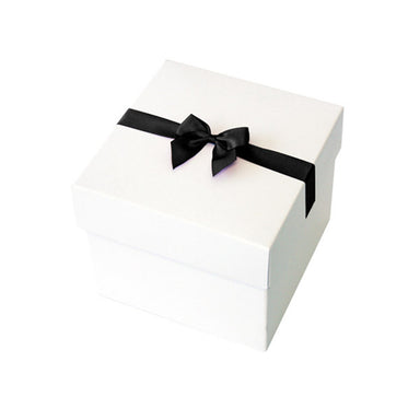 Black Pre tied Bow Size 5 to fit Keepsake Small Hamper Boxes