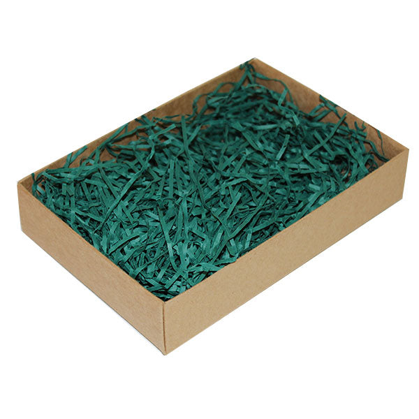 Shredded Paper 4kg Forest Green