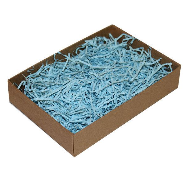 Shredded Paper 4kg Pale Blue