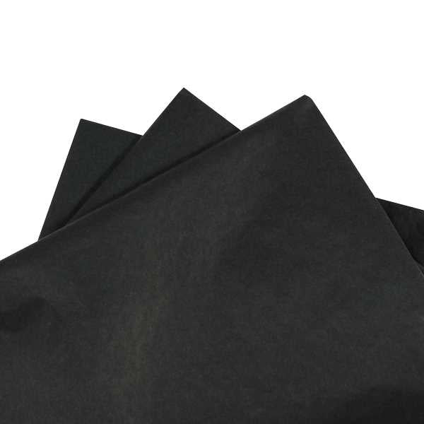 Tissue Paper Black 480 sheets