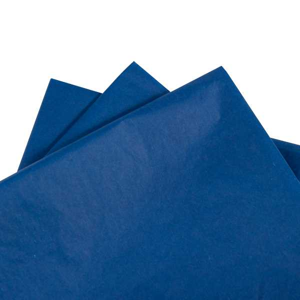 Tissue Paper Dark Blue 480 sheets