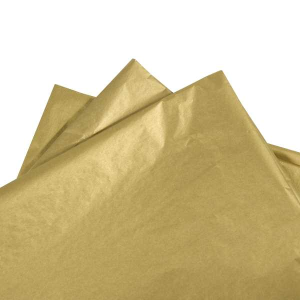 Tissue paper Metallic Gold 480 sheets