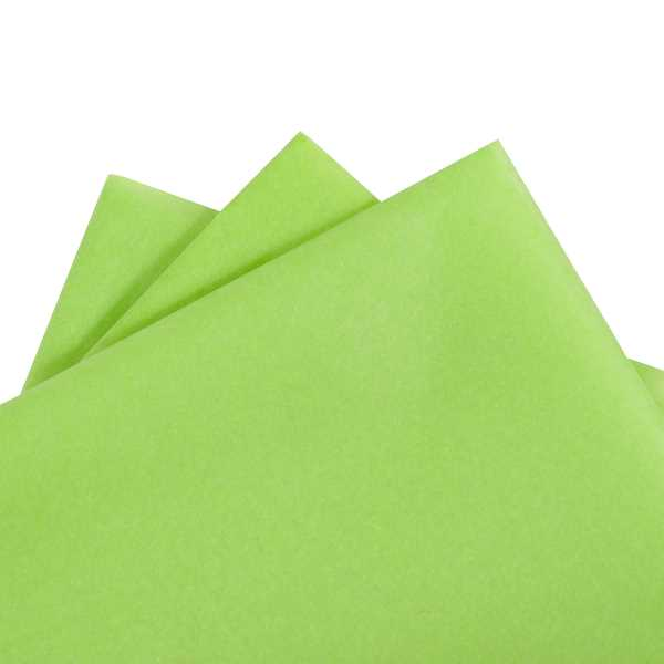Tissue Paper Lime Green 480 sheets