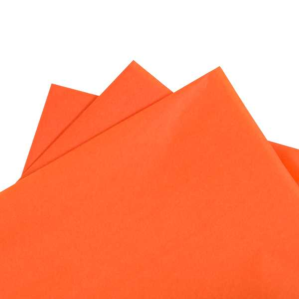 Tissue Paper Orange 480 sheets