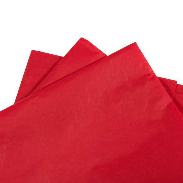 Tissue Paper Red 480 sheets