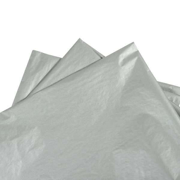 Tissue paper Metallic Silver 480 sheets