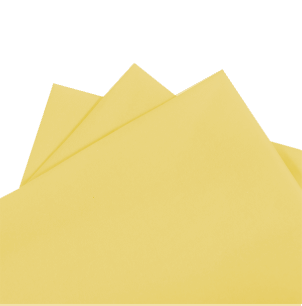 Tissue Paper Yellow 480 sheets