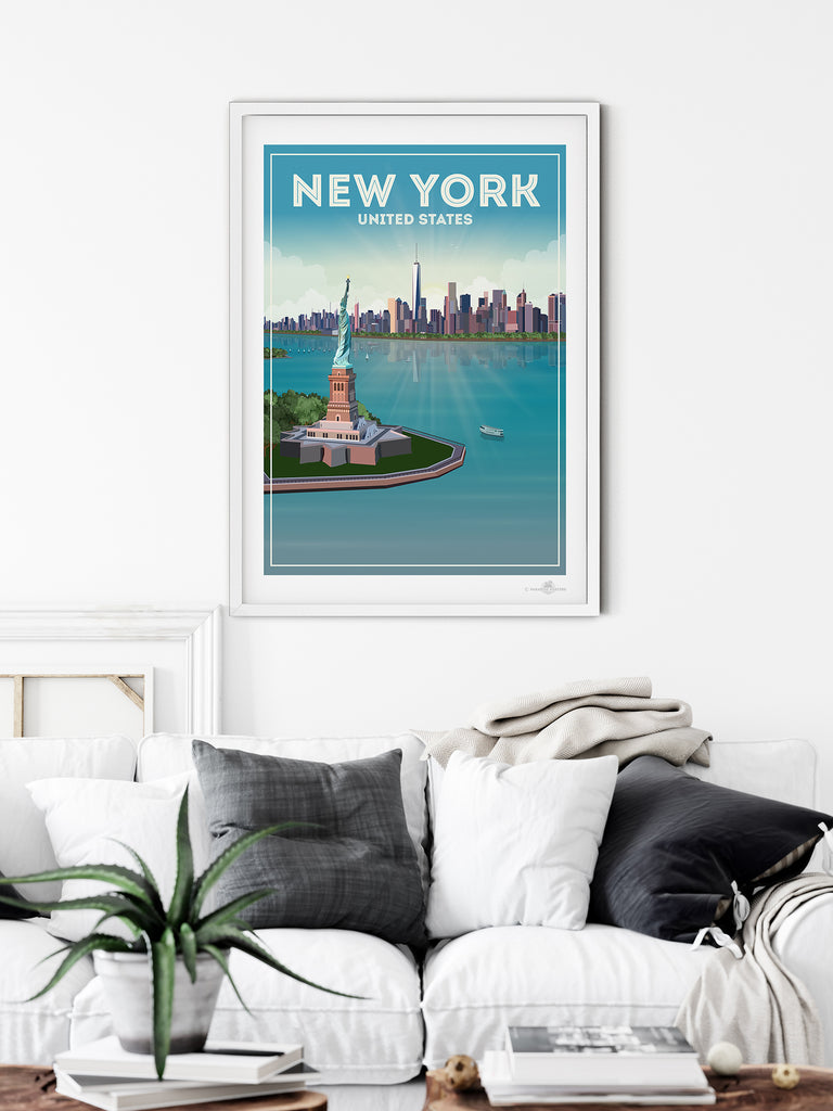 New York City poster print - Paradise Posters