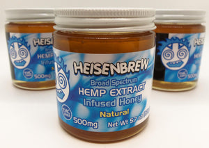 Heisenbrew Hemp Honey 500mg