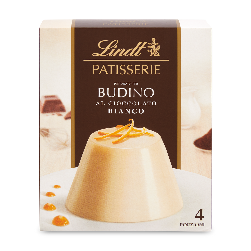 PATISSERIE CHOCOLATE PUDDING WHITE 95g