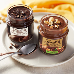 LINDT HAZELNUT CHOCOLATE SPREAD 200g