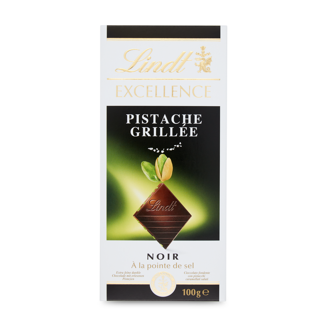 EXCELLENCE CARAMELIZED PISTACHIO WITH A TOUCH OF SEA SALT 100g