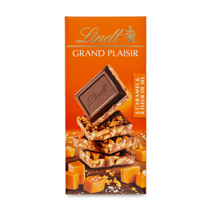 GRAND PLAISIR DARK CARMEL & SEA SALT 150g
