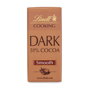 LINDT COOKING DARK 51% COCOA 180G