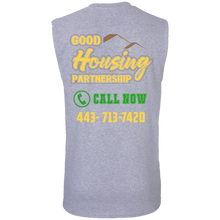 Load image into Gallery viewer, Good housing partnership Cotton Sleeveless T-Shirt