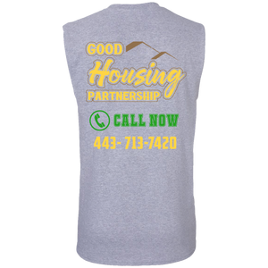Good housing partnership Cotton Sleeveless T-Shirt