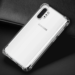 Galaxy Note 10 Plus King Kong Anti-Knock TPU Transparent Case