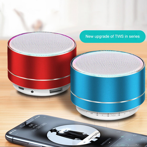 Mini Portable Wireless Metal Steel Bluetooth Speaker