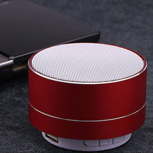 Load image into Gallery viewer, Mini Portable Wireless Metal Steel Bluetooth Speaker Under Rs.699