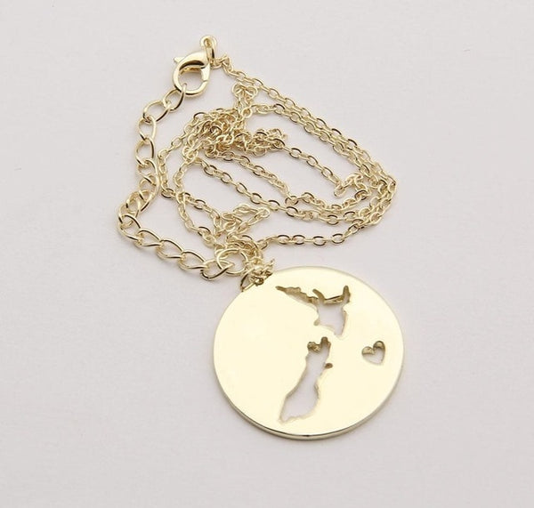 Product of the month: Gold NZ Necklace - Save 50%
