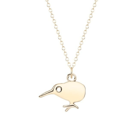 Kiwi Bird Necklace