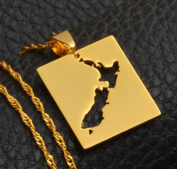 Gold New Zealand Necklace
