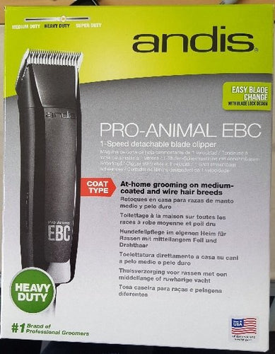 Andis Groom Easy Clipper Kit (EBC)