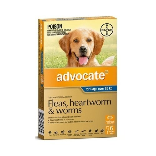Advocate For Dogs Over 25Kg Blue 6 Pack