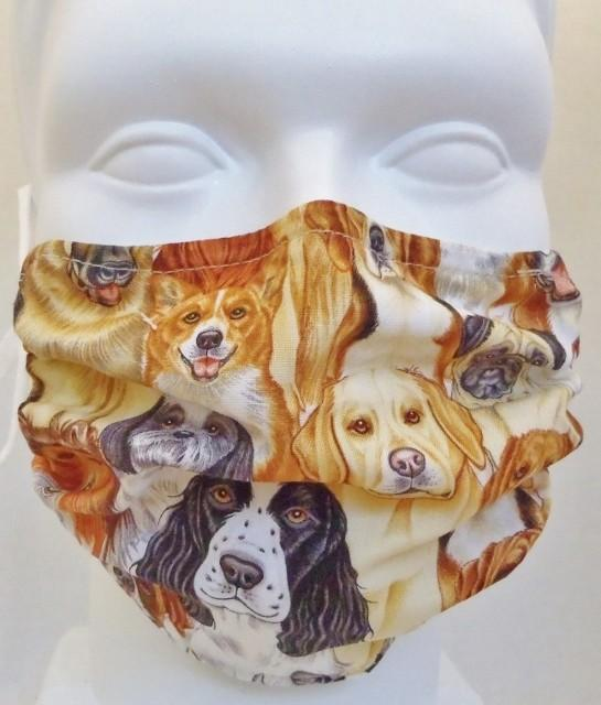 Breathe Healthy Dogs Brown Mask