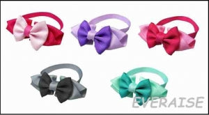 Mixed Colour Bows -  Collar Individual