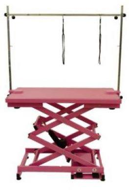 Electric Grooming Table N-109X - Pink
