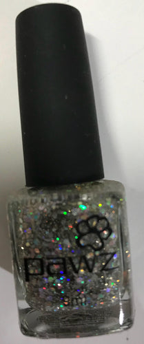 PAWZ Dog Nail Polish Sparkle Silver 9ml