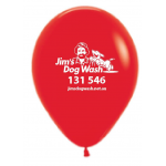 Jim's Dog Wash Promotional - 30cm Round Balloons