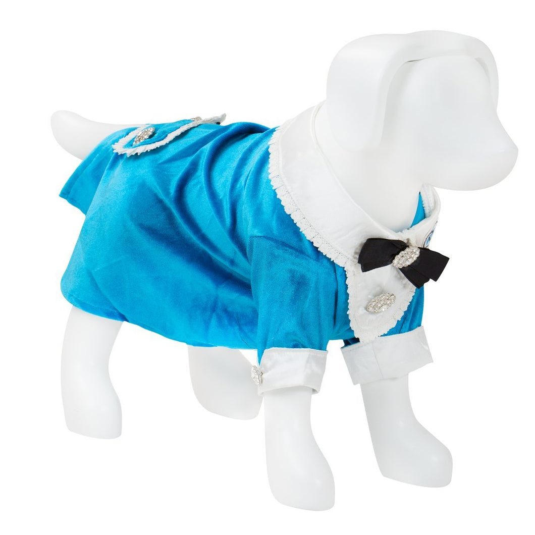 F&R for VP Pets Tuxedo - Medium- Blue