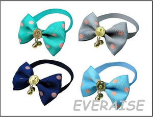 Mixed Bow Ties - Collars With Gold Trim