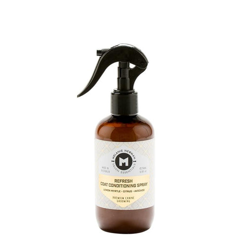 Melanie Newman Refresh Coat Conditioning Spray 250ml - Lemon Myrtle, Citrus and Avocado