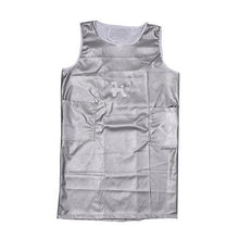 Load image into Gallery viewer, Apron Sleeveless Extra Large- Silver