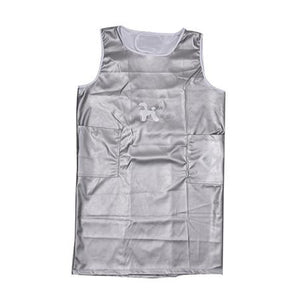 Apron Sleeveless Extra Large- Silver