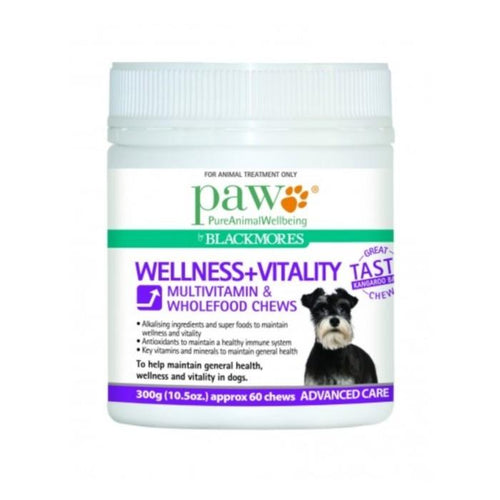 PAW Wellness & Vitality Multivitamin Chews 300g