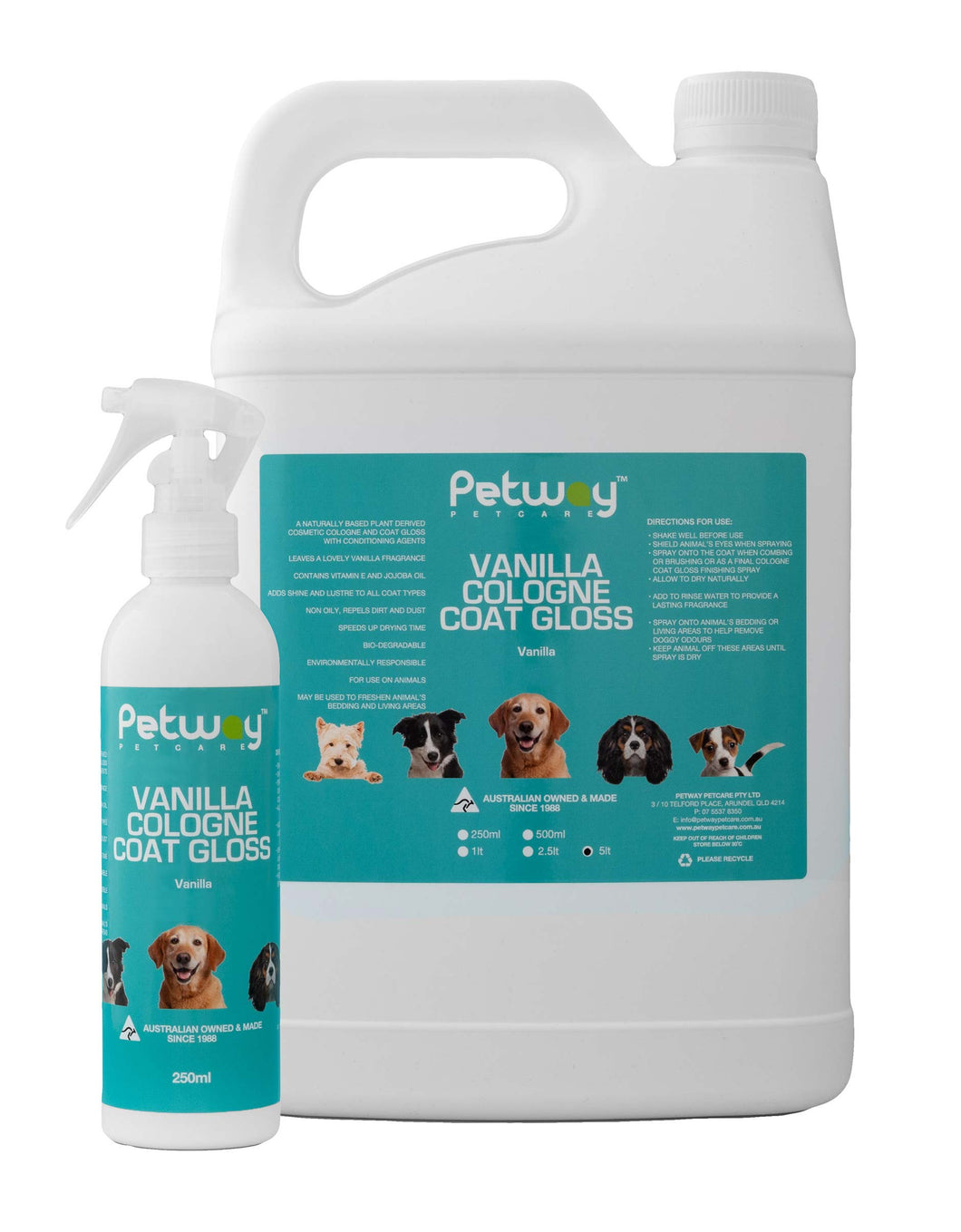 Petway Vanilla Cologne Coat Gloss 1L