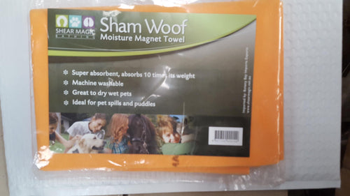 Shear Magic Shamp Woof Moisture Magnet Towel