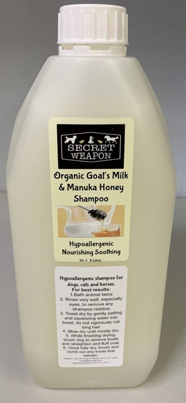 Secret Weapon Goat's Milk and Manuka Honey 500ml