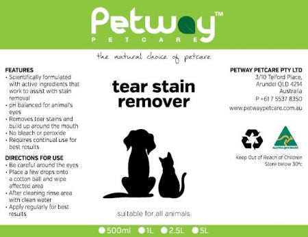 Petway Tear Stain Remover 500ml