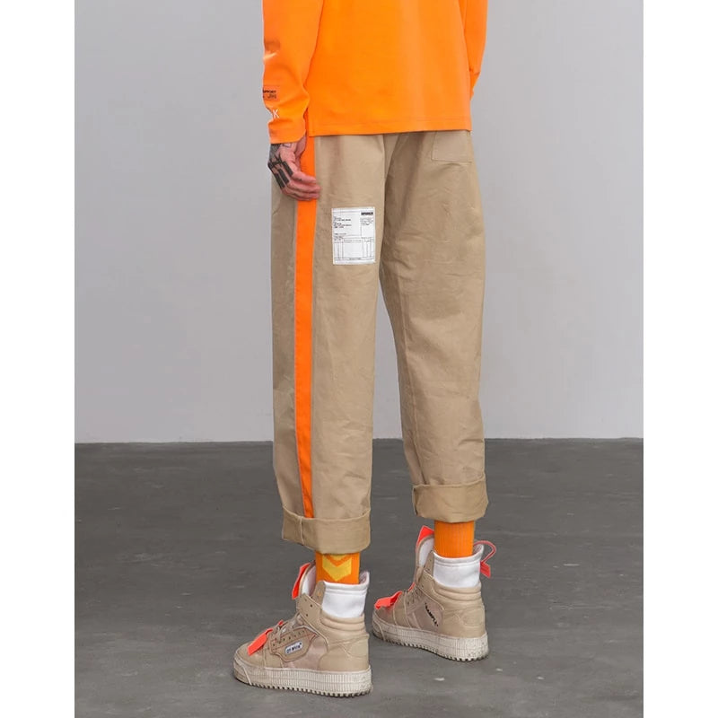 Fluorescent Side Casual Pants
