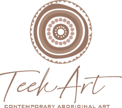 Teekart - Contemporary Aboriginal Art