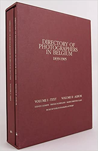 Directory of photographers in Belgium volume 1+2