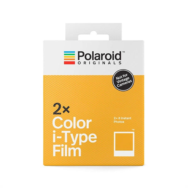Polaroid Originals - Double pack color instant film for I-type