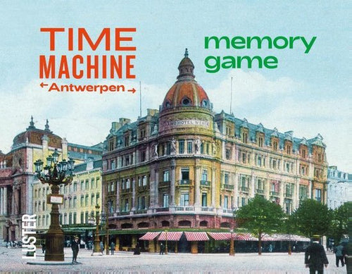 Time Machine - Antwerpen Memory Game